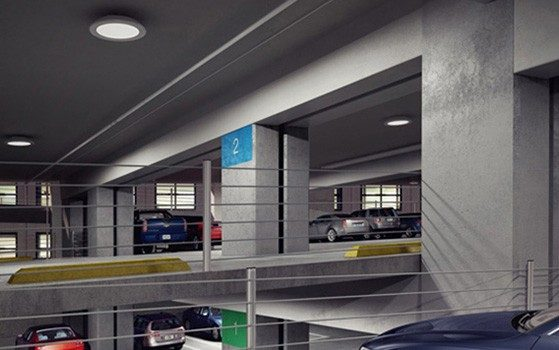 The TopTier LED Parking Garage